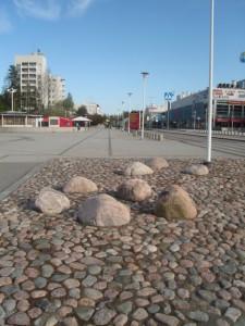 Lohkaremaisemointia Espoonlahdessa. Kuva Toni Eerola, GTK.