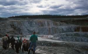 Kaivokset ja louhokset ovat suosittuja geomatkailun kohteita. Kuva: Viljami Hyppönen, GTK.