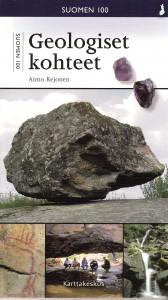 Näyttävät siirtolohkareet ovat geomatkailukohteita. Onkiniemen kiikkukivi Sysmässä komeilee Aimo Kejosen Suomen 100 geologista kohdetta-kirjan kannessa.