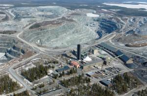 Ilmakuva Kemin kaivoksesta. Kuva: Outokumpu Oy